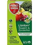 PROTECT GARDEN Lizetan Zünslerfrei 25g Spritzmittel für schnelle und effektive Bekämpfung von schädlichen Larven und Raupen, braun