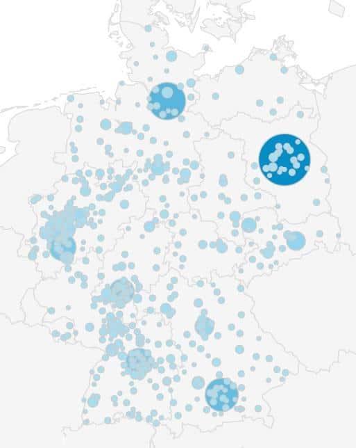 Buchsbaumzünsler Ausbreitung Karte Deutschland